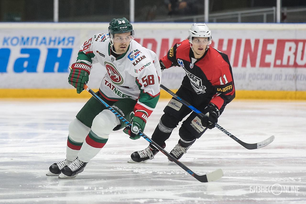Антон Ландер  об Ак Барсе о решении уехать из НХЛ
